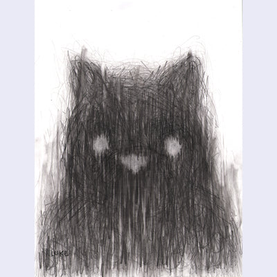 "Luke Chueh Drawings - ""Shroud"""
