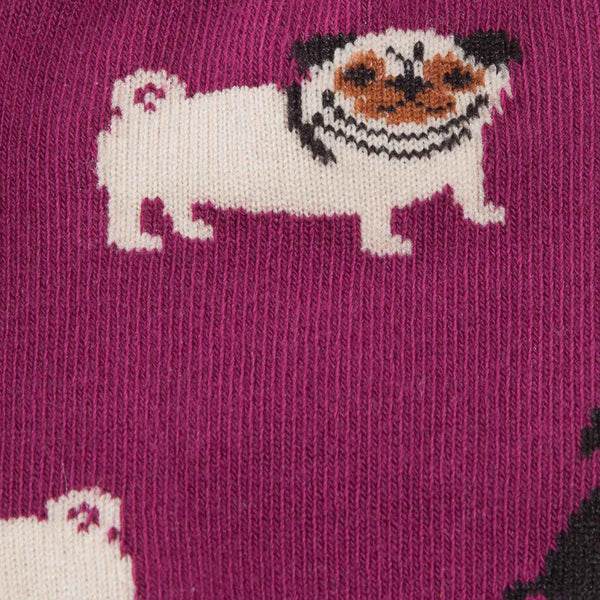 Pug Life Toddler Socks