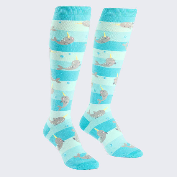 Unicorn of the Sea Socks (Knee High - Womens)
