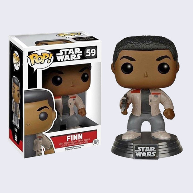 Funko x Star Wars - Pop! Finn Bobble-Head Vinyl Figure