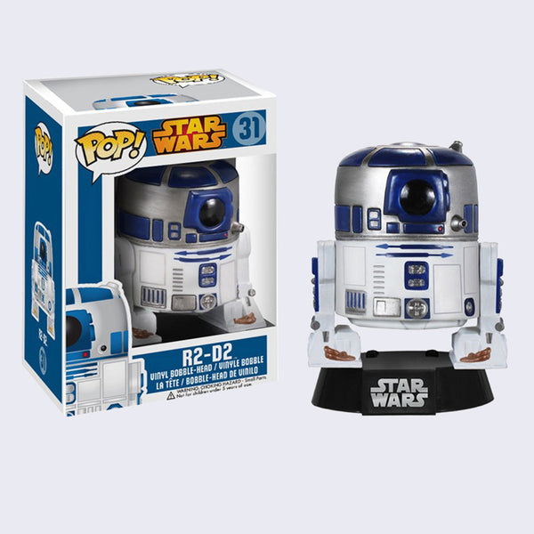 Funko x Star Wars - Pop! R2D2 Bobble-Head Vinyl Figure