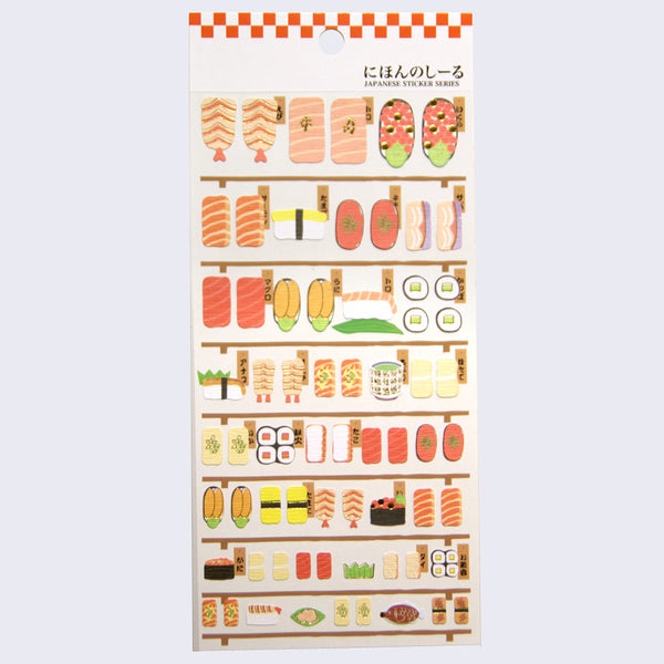 Japanese Food Sushi Stickers