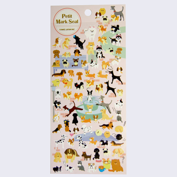 Petit Mark Seal - Dog Stickers
