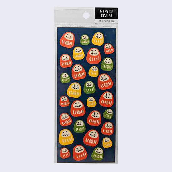 Mind Wave - Daruma Sticker Sheet