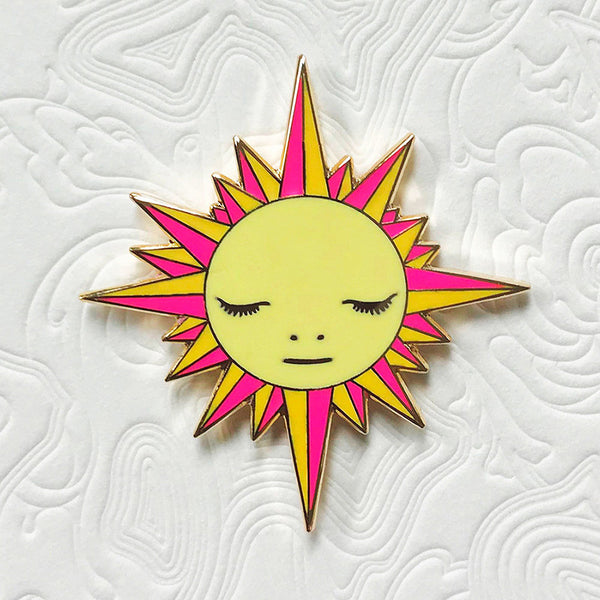 James Jean - Azimuth Sun Enamel Pin