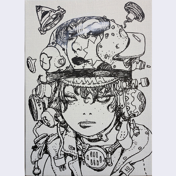 Katsuya Terada - Untitled on Canvas 2 - #2