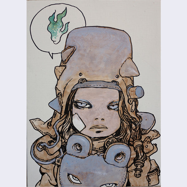 Katsuya Terada - Untitled on Canvas 5 - #5