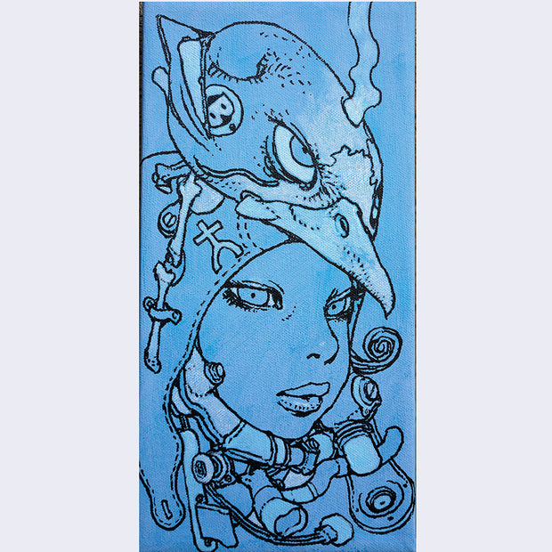 Katsuya Terada - Untitled on Canvas 13 - #13