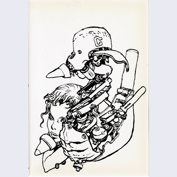 Katsuya Terada - Untitled Drawing Small 1 - #19