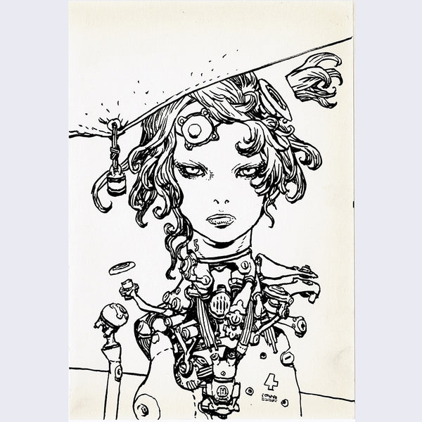 Katsuya Terada - Untitled Drawing Small 2 - #20