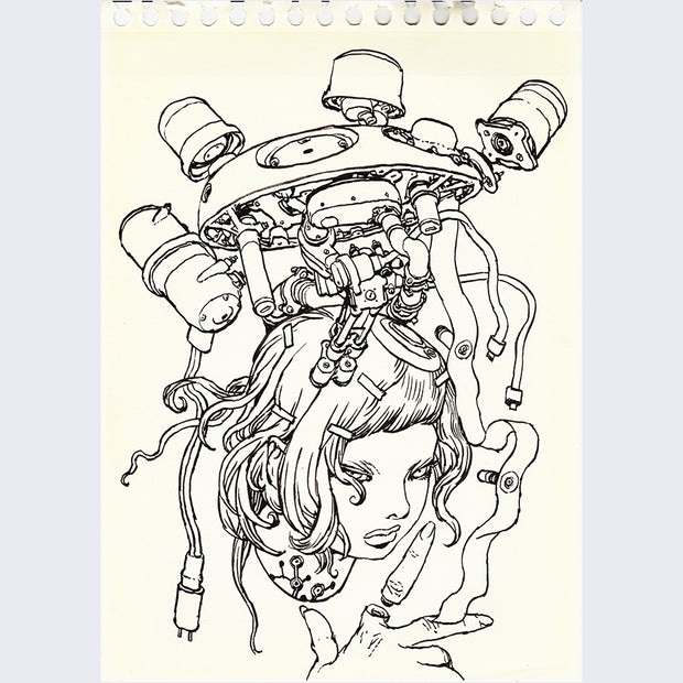 Katsuya Terada - Untitled Drawing Sketchbook 2 - #35