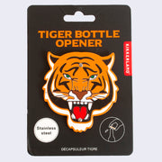 Tiger Head Bottle Opener