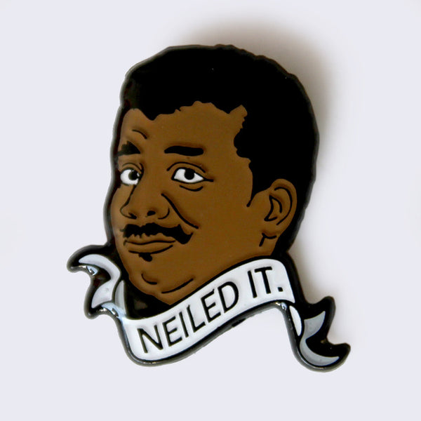 Take A Penny Co. - Science Heroes: Neil deGrasse Tyson Enamel Pin