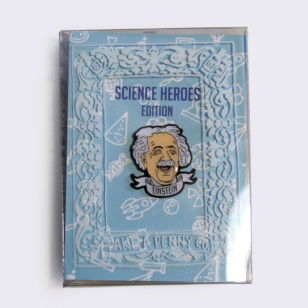 Take A Penny Co. - Science Heroes: Albert Einstein Enamel Pin