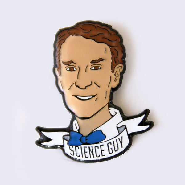 Take A Penny Co. - Science Heroes: Bill Nye the Science Guy Enamel Pin