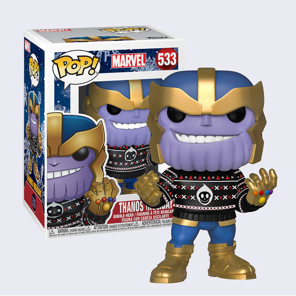 Funko - Holiday Thanos Vinyl Pop! Figure