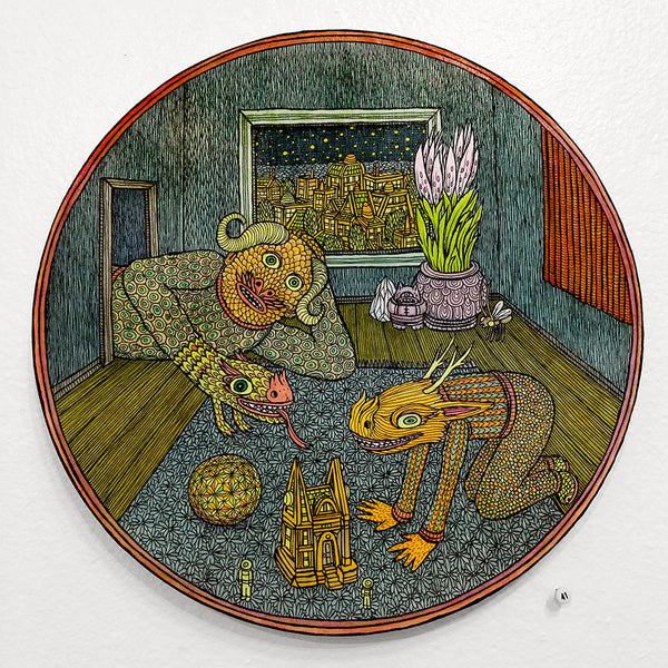 "Comfort Creature Feature: ""Playroom Shield"" by Theo Ellsworth - #41"