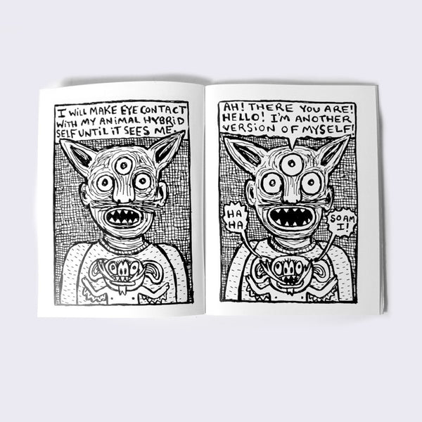 Theo Ellsworth - Other Selves Zine