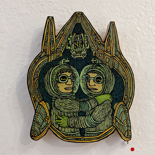 Theo Ellsworth - Inner-Space Doppelganger Peaceful Relations Mask - #9