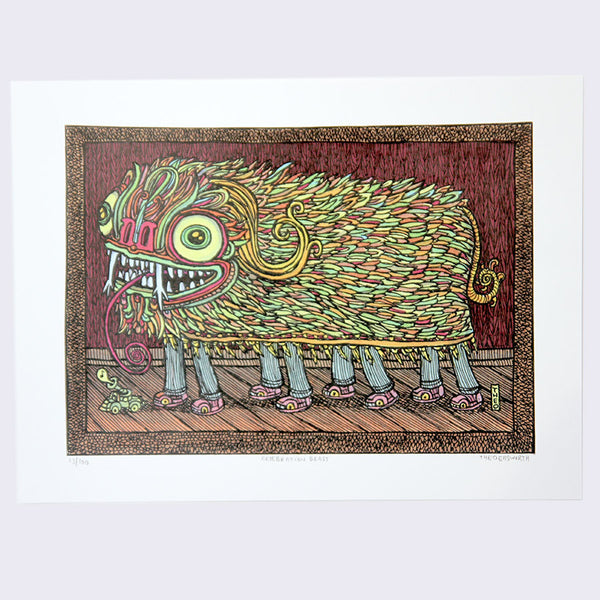 Theo Ellsworth - Celebration Beast Print