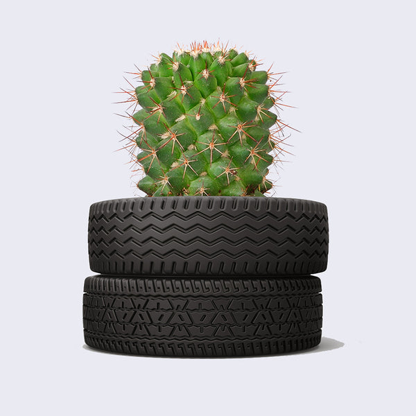 Ceramic Tire Planter