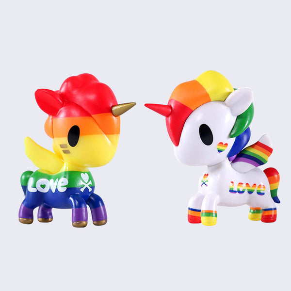 Tokidoki - Unicorno Pride Set of 2 Figures