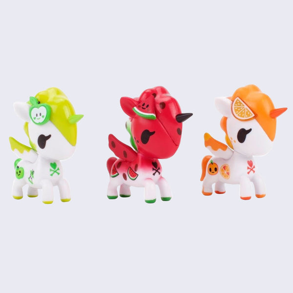 Tokidoki - Unicorno Fruit Set of 3 Figures