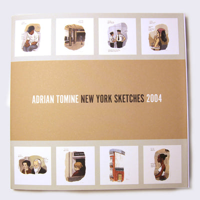 Adrian Tomine - New York Sketches 2004