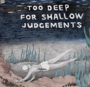 "Underwater Show - Cassia Lupo - ""Too Deep for Shallow Judgements"""