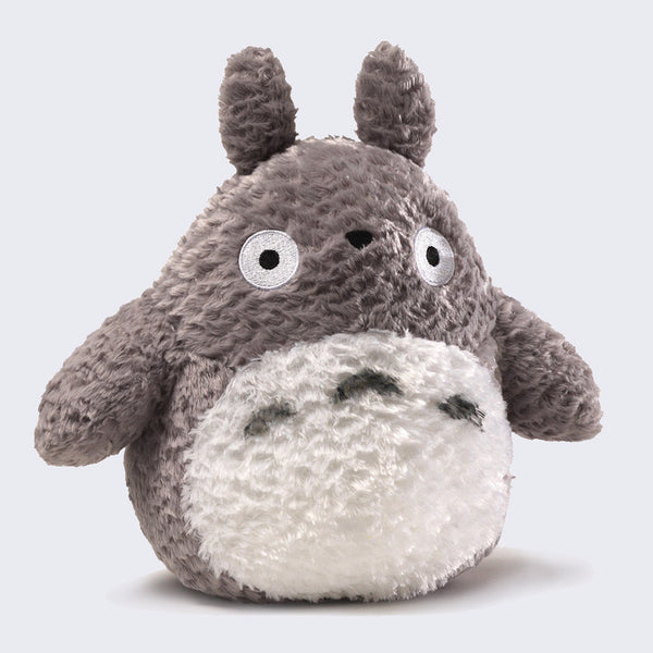 "Totoro 9"" Fluffy Grey Plush"
