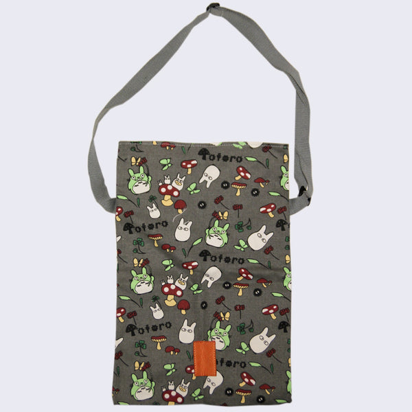 Totoro Canvas iPad Shoulder Bag