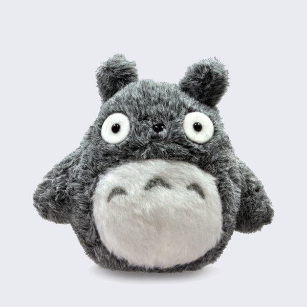 "Totoro 4"" Bean bag Plush (Gray)"