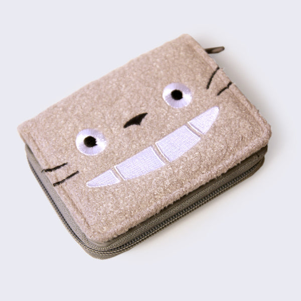 Totoro Wallet (Fuzzy & Emboirdered)