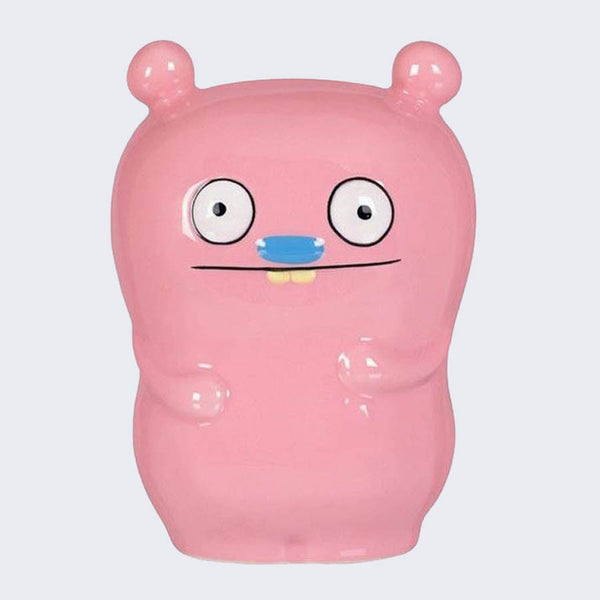 Uglydoll Ceramic Coin Bank - Trunko (Pink)