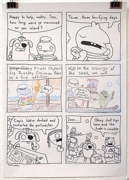 Travis Nichols - Uglydoll Comics Original Pages - #41