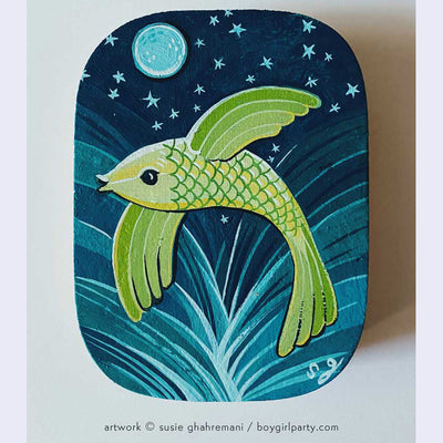 "Underwater Show - Susie Ghahremani - ""Flying Fish"""