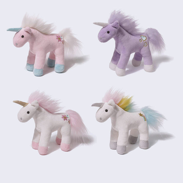 Unicorn Plush with Sound! (assorted colors)