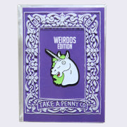 Take A Penny Co. - Unicorn Enamel Pin (Glow-in-the-Dark)