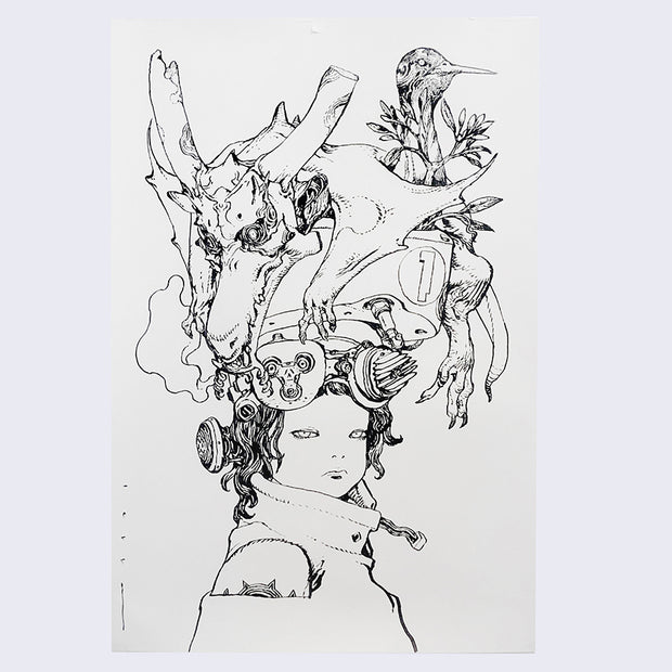 Katsuya Terada - Live Drawing July 2019