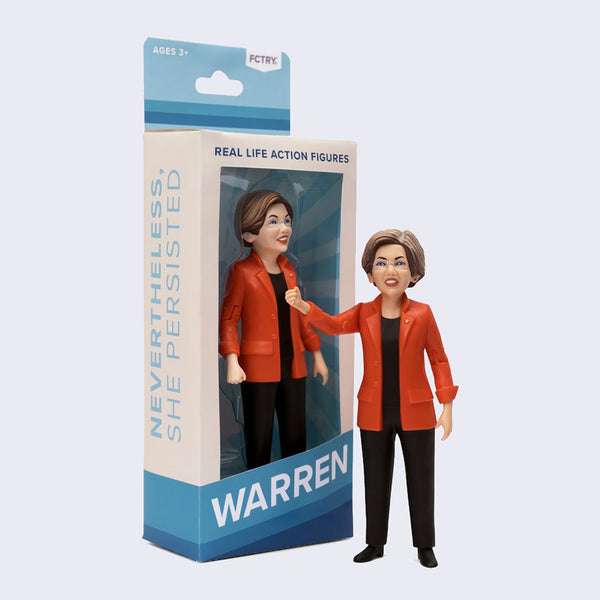 FCTRY - Elizabeth Warren Action Figure