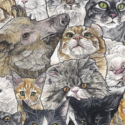 Kozyndan - Year of the Pig (Cats) Print