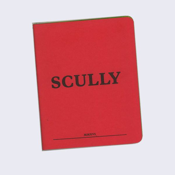 Lee Noble - Scully Zine