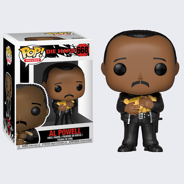 Funko - Die Hard: Al Powell Vinyl Pop! Figure