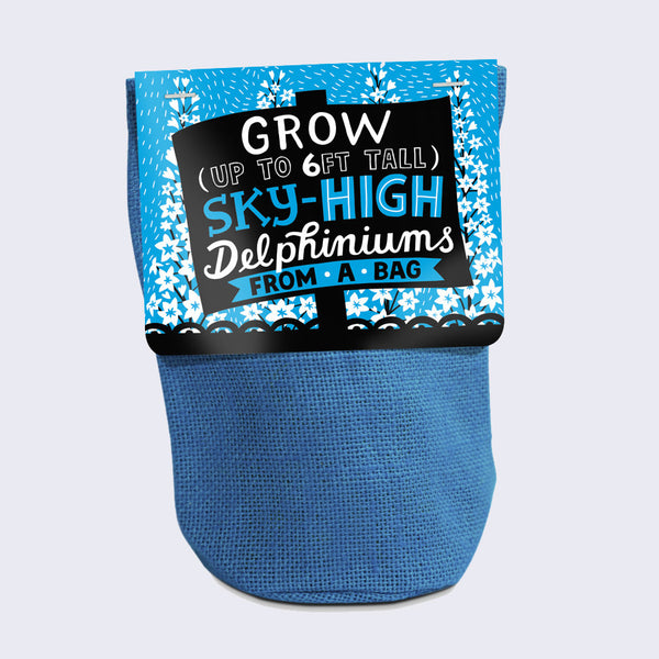 Grow From A Bag (Sky-High Delphiniums)