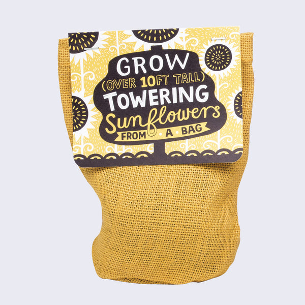 Grow From A Bag (Towering Sunflowers)