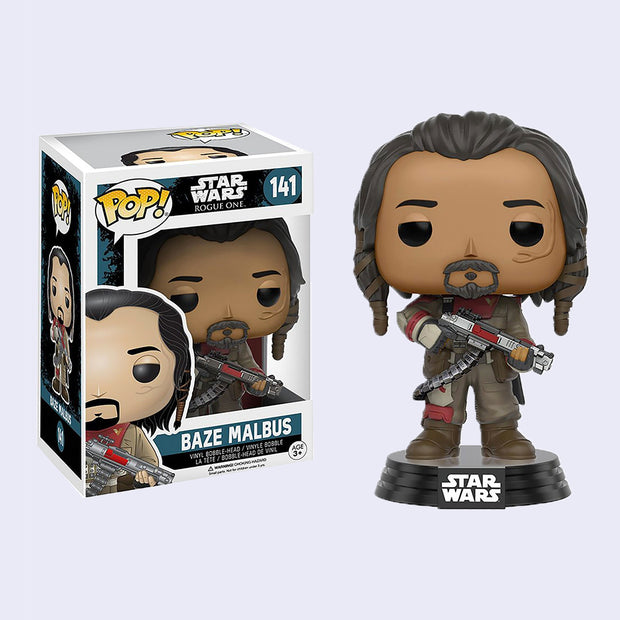 Funko x Star Wars - Baze Malbus Vinyl Pop! Figure