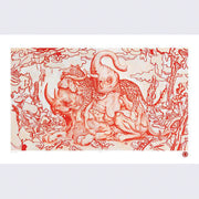 James Jean - Big Five Print (Signed Artist's Proof) - Giant Robot Offerings Series #4