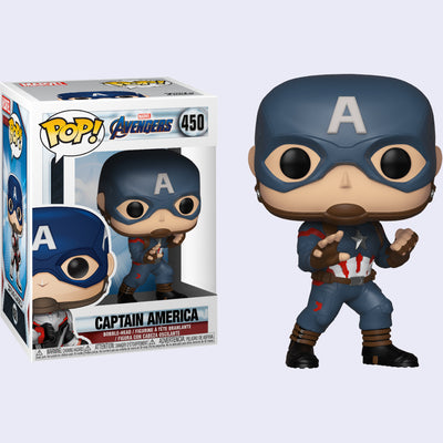 Funko x Marvel - Captain America Vinyl Pop! Figure