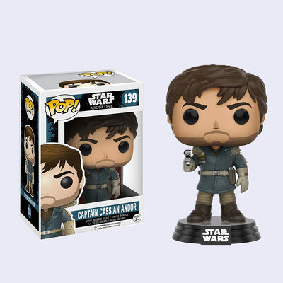 Funko x Star Wars - Captain Cassian Andor Vinyl Pop! Figure