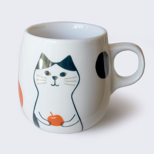 Cat & Fruit Mug (Assorted)
